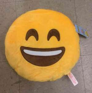 Emoji Cushions for £3 when you spend £1 @ Poundland instore