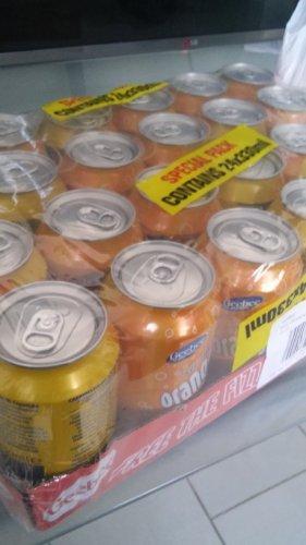 geebee orangeade..24x330ml pack for £1.50  at asda