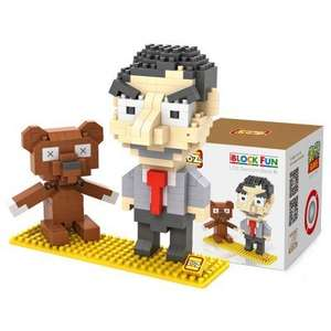 Mr. Bean  / Mr & Mrs Potato Head / Cookie Monster / Tom & Jerry / Pac-Man / Spongebob / Luigi  / Marvel Building Block Toys (& more) from £2.21 delivered @ GearBest (see 1st comment)
