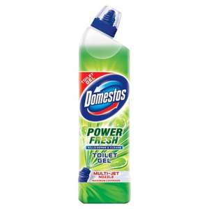 Domestos Power Fresh Toilet Gel Lime or Ocean Fresh 700ml, reduced from £1.73 to £1.00 at Morrison's
