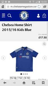 Chelsea 15/16 Football Shirt from £22.45 delivered @ Chelsea Megastore