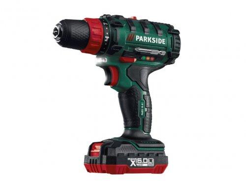 Parkside 16v Li-Ion Cordless Drill @ lidl £29.99