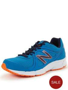 New Balance M390v2 Running Shoes in Blue or Black now £20 at Very