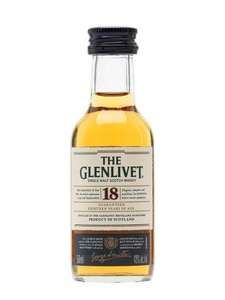 Glenlivet 18 Year Old Minature £3.95 (+P&P) @ The Whisky Exchange