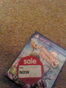 Little Big Planet 3 PS4 £5 in Asda