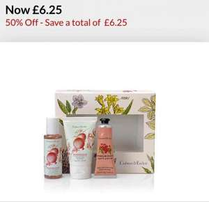 Crabtree and Evelyn gift set. Half Price, £6.25 at Debenhams