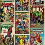 Marvel Superheroes Comic Cover Wallpaper £6  C+C @ Wilko