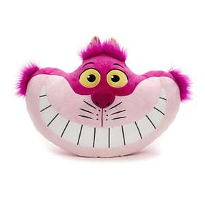 Cheshire Cat Big Face Cushion was £16.95 now £10 instore / online @ Disney Store (+ Lots of other offers)
