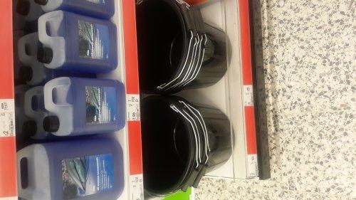 Asda 15 litre Bucket with handle £1 @ asda instore