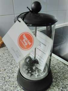 Sainsburys plastic 8 cup cafetiere scanning at £3.50 @ Sainsbury's instore