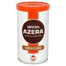 Nescafe Azera Americano, Intenso and Espresso Coffee 100G, reduced from £4.99 to £2.49 from tomorrow at Tesco