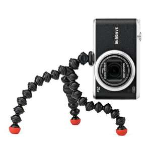 Joby GorillaPod Magnetic Tripod for Compact Cameras - Black/Red £14.50 (prime)(Amazon)