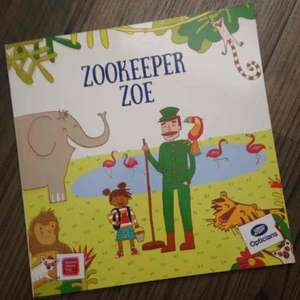 Free Kids Story Book in Boots - Zookeeper Zoe