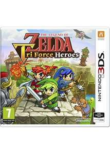 [Nintendo 3DS] The Legend Of Zelda Tri Force Heroes - £18.99 - Base