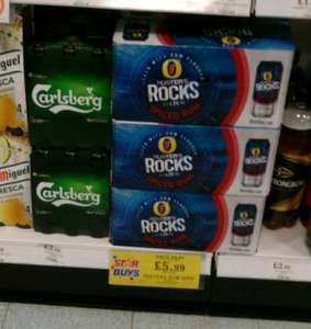 foster rocks beer with spiced rum box of ten x440 ml cans , £5.99 @ home bargains