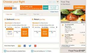 Manchester to Marrakech for £115 for 7 nights @ Easyjet