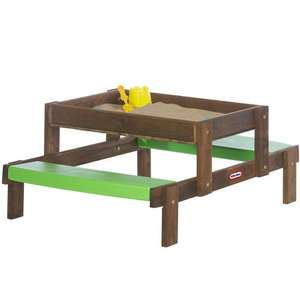 Little Tikes 2 in 1 Sand and Picnic Table was £119.99, now £47.99 delivered @ Toys R Us