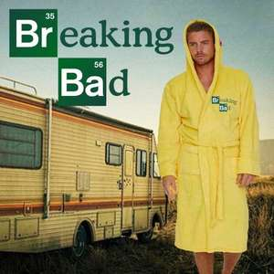 Breaking Bad Cook Suit Bathrobe £14.99  free C&C @ Menkind