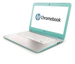 Turquoise HP Chromebook 14-inch Light Weight Laptop (Grade A Refurb) - £99.99 - eBay/LaptopOutletDirect