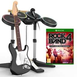 Rock Band 4 band-in-a-box bundle - Game - £99.99 - Xbox One/PS4