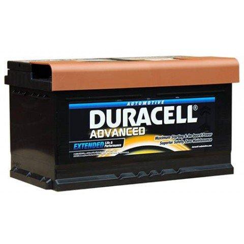 Duracell DA80 Advanced Car Battery Type 110 - 5 Year Guarantee £77.64 @ Carparts4less