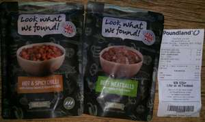 Look What We Found! Meals In Poundland In Store £1