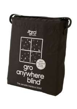 Gro anywhere travel blackout blind @ Amazon £14.99 half price!