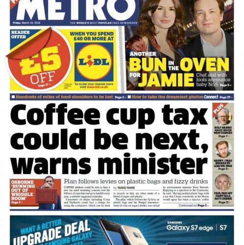 Lidl £5 off £40 in Metro newspaper (free)