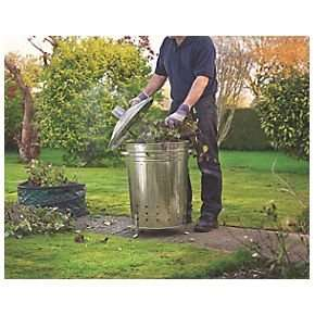 Galvanised Incinerator Bin @ Screwfix £17.49