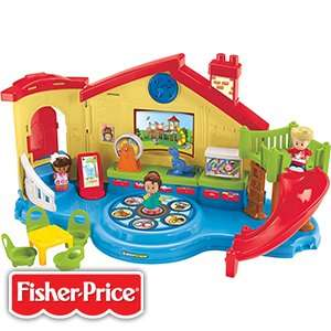 £19.99 Fisher-Price Little People Musical Pre-school Playset SAVE £30! @ Home Bargains