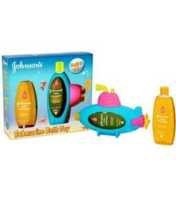 2 x Johnsons 300ml baby shampoo and submarine bath toy £1.25 @ Tesco Walsall