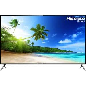 "Hisense HE58KEC730UWTSD 58"" Smart 3D 4K Ultra HD TV - Silver £599 Was £1199 @ AO free 2 year guarantee"