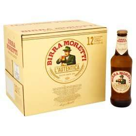 Birra Moretti £10 at Asda 12x 330 ml (in store and online)