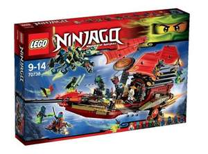 LEGO 70738 Ninjago Final Flight of Destiny's Bounty £67.99 @ Amazon