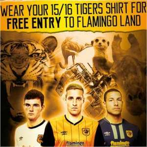 Free Entry to Flamingoland Just Wear your 2015/16 Hull City Replica Shirt