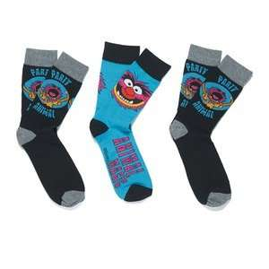 Pack of 3 Men's Muppet Socks (also Batman/Family Guy) £4.99 Del @ Zavvi