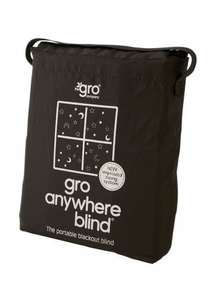Gro Company Gro Anywhere Blackout Blind @ Amazon £14.99 with PRIME / £19.74 Non-Prime
