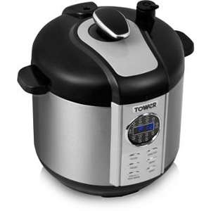 Argos - Tower Pressure Cooker 5L Digital - £43.99