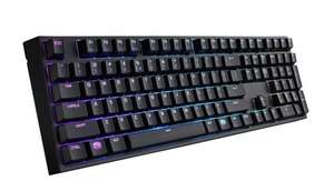 Cooler Master MasterKeys Pro L RGB keyboard with Cherry MX Brown preorder £109.99 @ Amazon, should be £129.99..