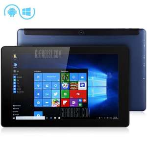 Cube iWork 10 Flagship Tablet PC Ultrabook  -  WINDOWS 10 + ANDROID 5.1  BLUE £118.46 / £105.33 (using code) @ Gearbest