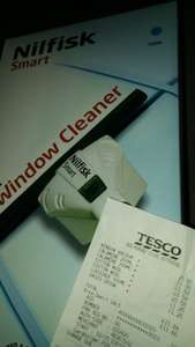 nilfisk window vacuum cleaner £5 @ Tesco