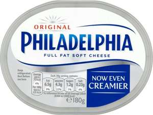Philadelphia Original, Light, Lightest & More - £1 - Tesco