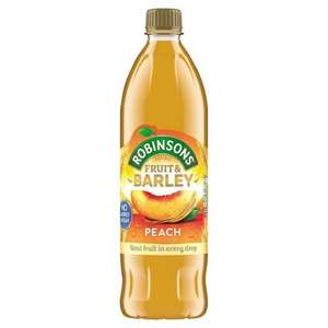 Robinsons Fruit And Barley All Flavors - Any 2 For £2.00 - Tesco