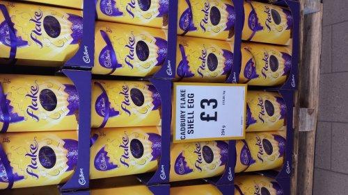 Giant Cadburys Flake Easter Egg £3.00 NETTO *instore only*