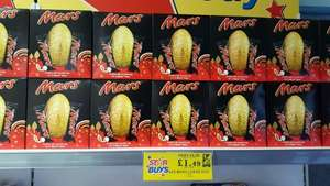 £1.49 large Mars easter egg @ home bargains in store