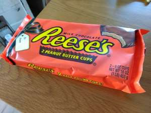 B&M Reese's 2 Half Pound Peanut Butter Cups 453g/1lb (and over a day's calories...!) £2.99