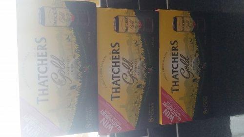 24 cans Thatchers Gold Cider £8.38 @ Makro