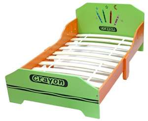 Crayon Wooden Toddler Bed  £33.48  delivered at Amazon
