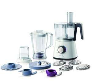 Philips HR7761/01 750 W Kitchen Food Processor with 2.1 L Bowl and Accessories for + 28 Functions now down to £54.99 @ Amazon