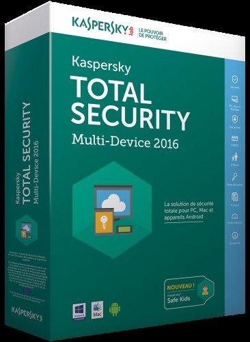 Kaspersky Total Security 2016 - Multi Device (5 Users) £6.99 @ Kaspersky